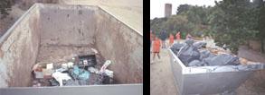 SOS Lloret neteja popular Cala Banys