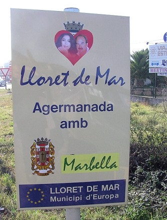 Lloret s'agermana amb Marbella