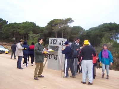 SOS Lloret campanya contra l'autopista C-32