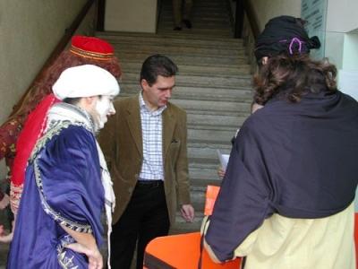 SOS Lloret 3 patges reials a l'Ajuntament