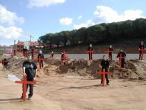 Acció contundent de SOS Lloret a Santa Clotilde