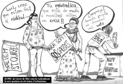 SOS Lloret vinyeta humorística