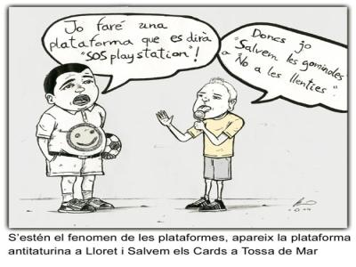SOS Lloret plataformes
