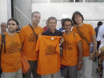 SOS Lloret acció volta ciclista a Espanya