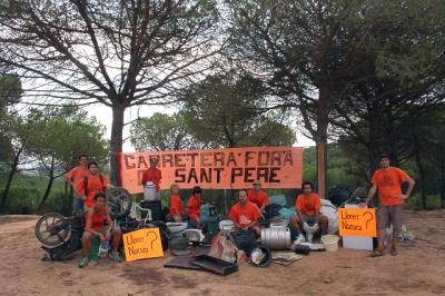 SOS Lloret neteja popular de l'Àngel i Sant Pere del Bosc