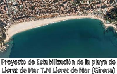 Dics platja Lloret de Mar