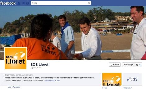 Facebook SOS Lloret