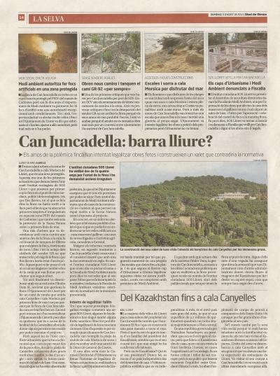 Diari de Girona Can Juncadella