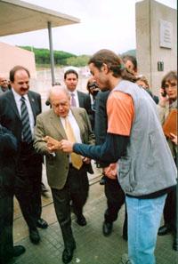SOS Lloret visita Jordi Pujol